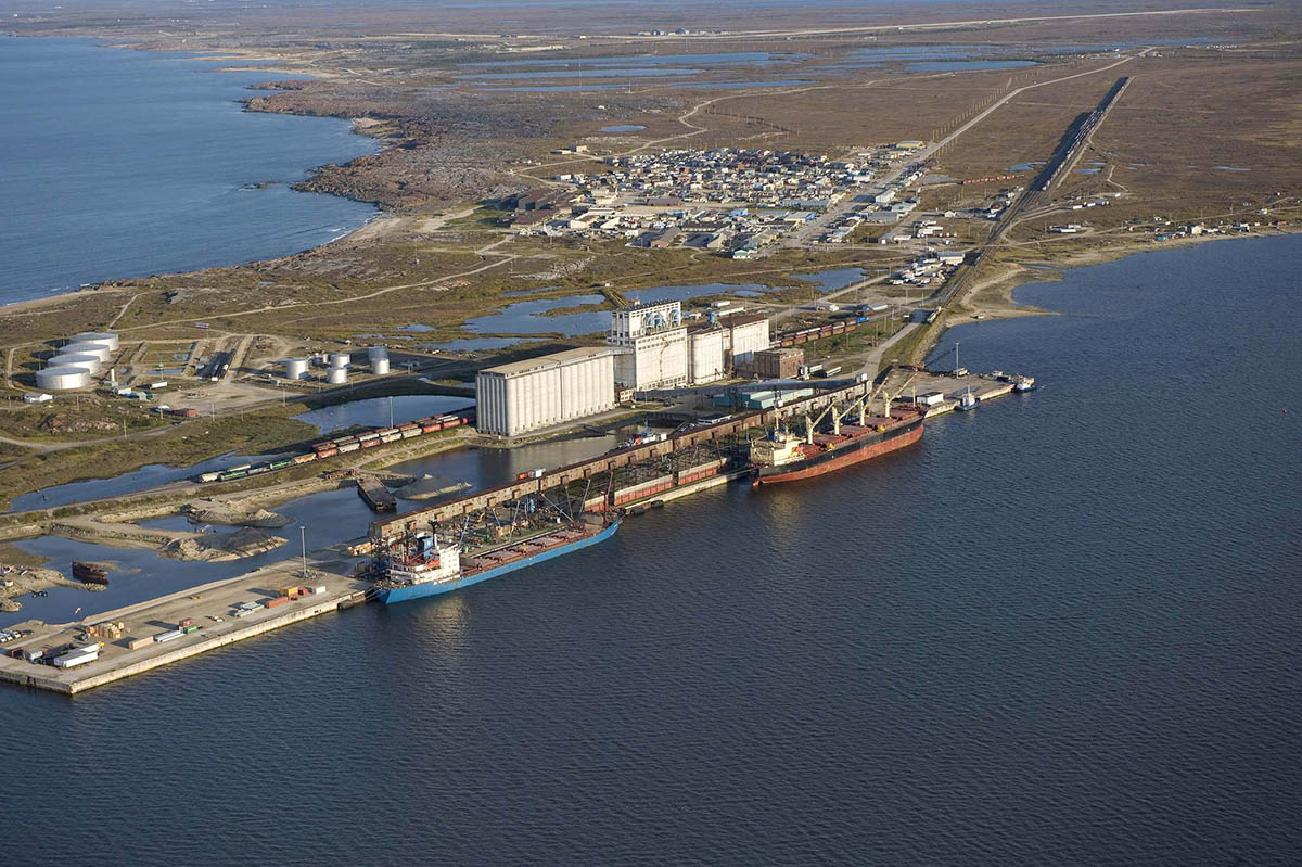 Port of Churchill Ready For Its First Grain Shipments